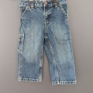 Oshkosh B'gosh carpenter denim blue jeans